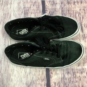 b673069b9a Vans Shoes - vans off the wall kids youth size 4 black sneakers